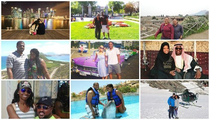 Black Travel Love: Couples Who Travel Together! In Honor of Valentine's Day and Black History Month read stories of these amazing black couples who are traveling all around the world together and defying stereotypes of travelers and proving black love is strong and lasting! Travel is a privilege that we all appreciate and are making the most of!