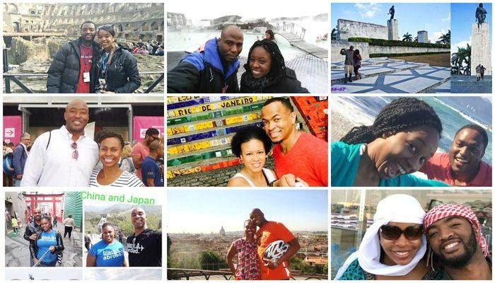 Celebrate Valentine's Day & Black History Month with Black Travel! Couples who travel around the world together share their inspiring stories!