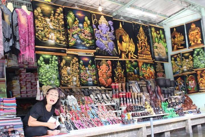 Bangkok Floating Market stall