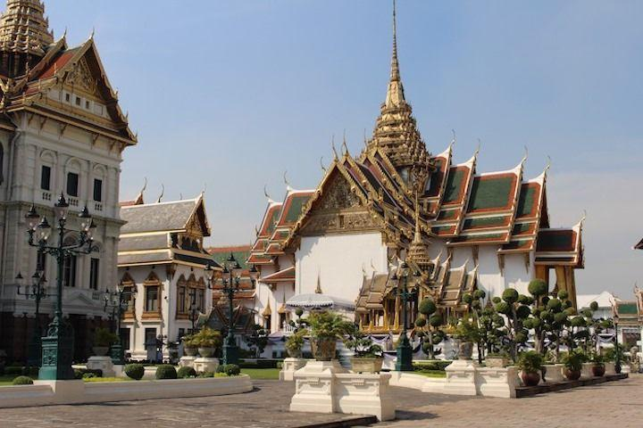 the grounds of the Grand Palace