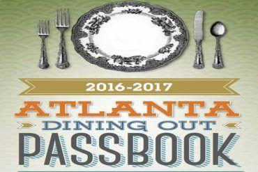 Atlanta Dining Out Magazine Passbook! Get 2 for 1 entrees in Atlanta at a discounted price here! Perfect for Atlanta Foodies! It can be used at over 30 restaurants in the area!