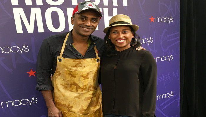Macy's Culinary Council with Chef Marcus Samuelsson for his Red Rooster Cookbook Event!