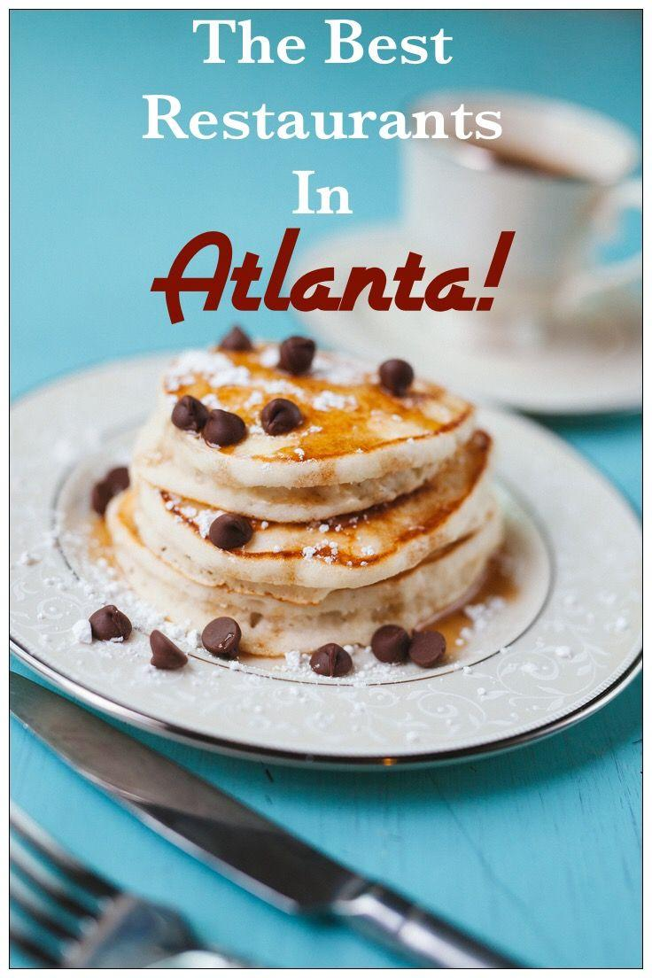A List of the Best Restaurants in Atlanta! Read what a food blogger recommends as the best places to eat and drink in the city! From comfort food to fine dining to tapas and Southern food-get the list here! Perfect for those traveling to Atlanta or residing in the area.