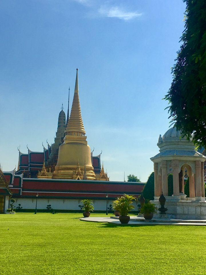 lawn at The Grand Palace