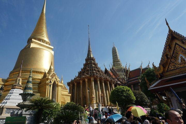 Wat Phra Kaew-Temple of the Emerald Buddha