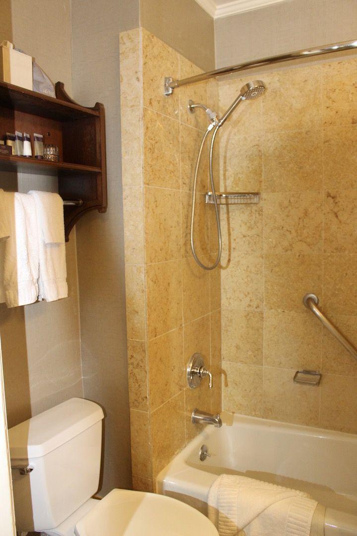 bathroom at Hotel Del Coronado