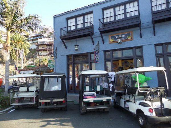 golf cart rental on Catalina Island