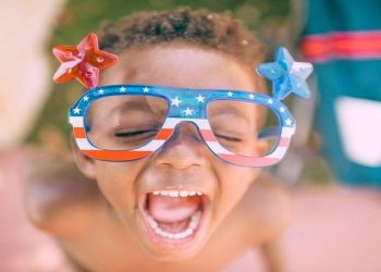 8 Unique 4th of July Celebrations & Destinations! Celebrate the 4th of July in small towns across America or with unique events such as watermelon eating contest, a helicopter ride or a patriotic salute! This post covers 8 cities across America that also have 4th of July fireworks!