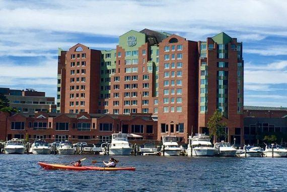 Where to stay in Boston: Royal Sonesta Boston Hotel on the Charles River!