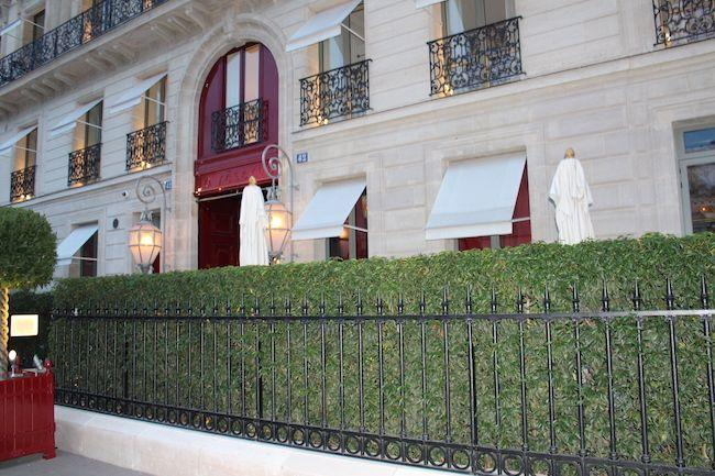 la reserve hotel paris, fine dining in paris, best restaurants paris