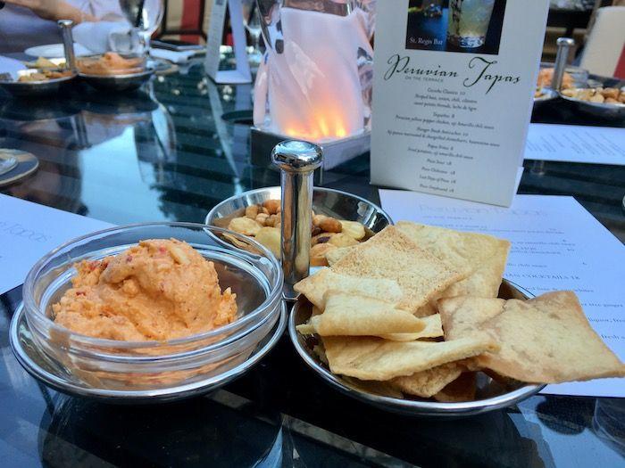 St.Regis Atlanta Hotel Happy Hour: Peruvian Tapas & Cocktails on the Terrace!