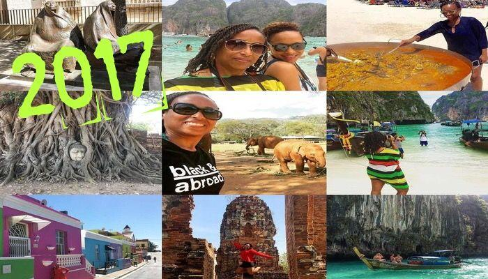 2017 Instagram Year in Review! A recap of my 2017 travels. 11 trips including international destinations, solo road trips, family travel and couples trips!