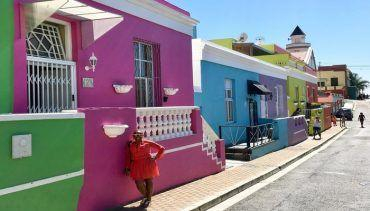 Take a tour of the historic and colorful area of Ba-Kaap in Cape Town South Africa. Cape Malay culture
