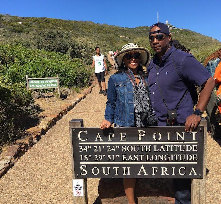 Cape town road trip along the cape peninsula. Cape Point, Cape of Good hope, Boulders beach