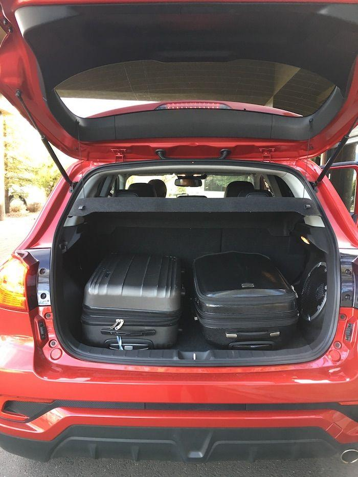 2018 Mitsubishi Outlander Sport SUV, arizona road trip