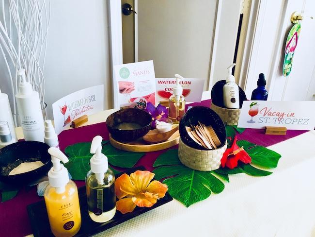 seasonal spa items