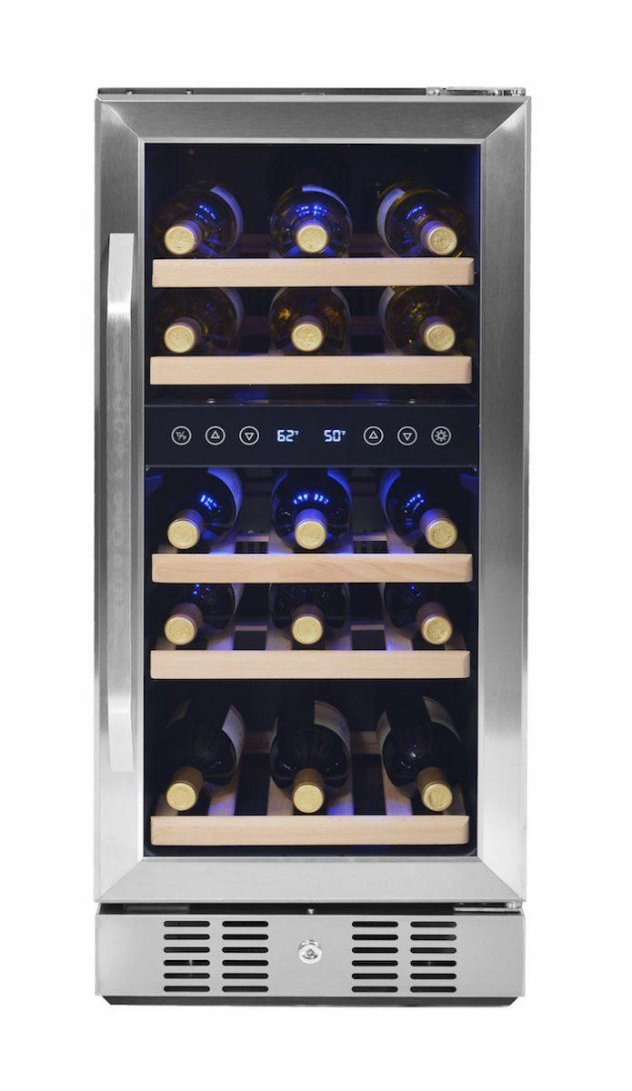 NewAir wine cooler, wine fridge, wine