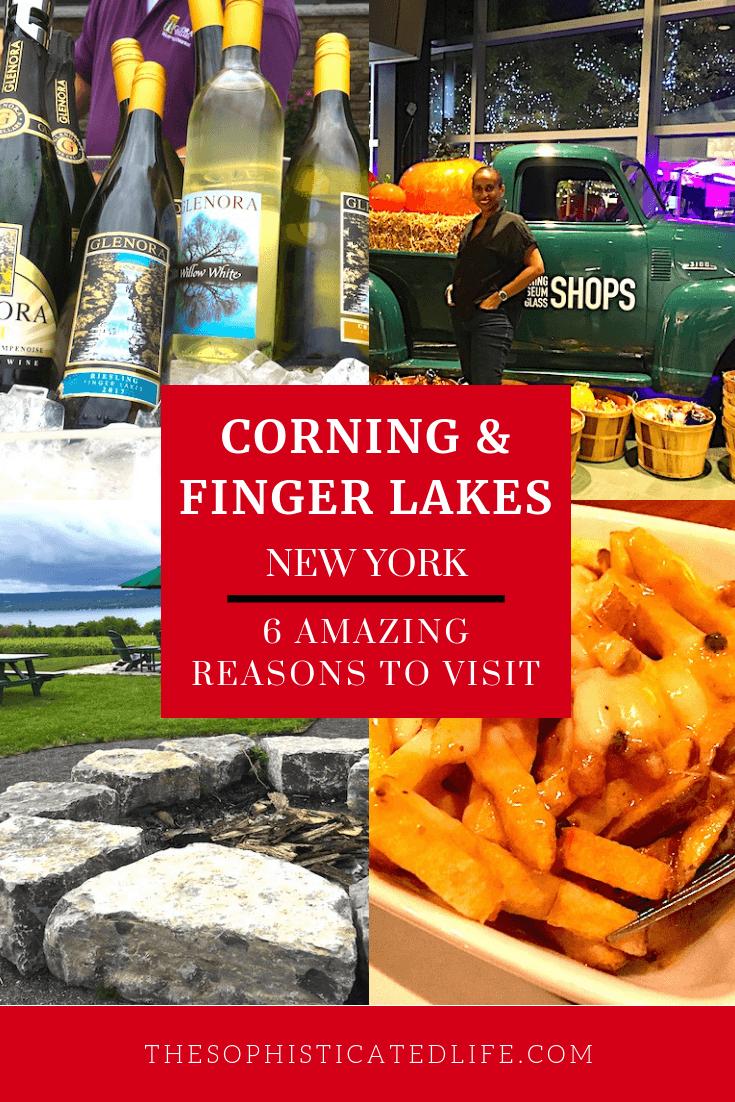 Seneca Lake Wine Trail, Corning Museum of Glass, Finger Lakes Wine Country, Corning New York,