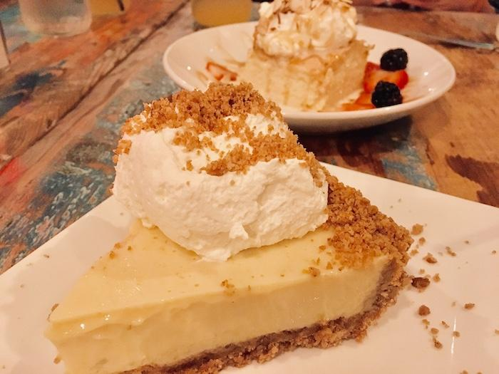 The award-winning key lime pie at Rhum