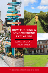 how to spend a long weekend exploring Long Island New York, great seafood, polo matches, beaches, boardwalks, lighthouses, historic mansions, The Hamptons