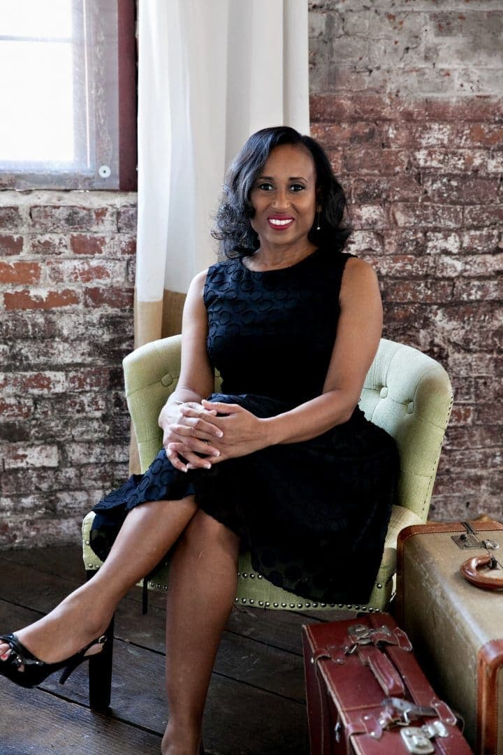 Nadeen White, creator & editor of the sophisticated life blog, travel, food, wine
