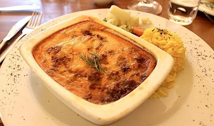 bobotie, south african food, stellenbosch