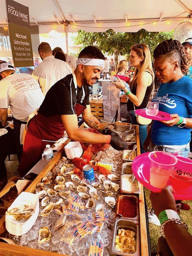 2019 Atlanta food & wine festival, southern food, atlanta restaurants