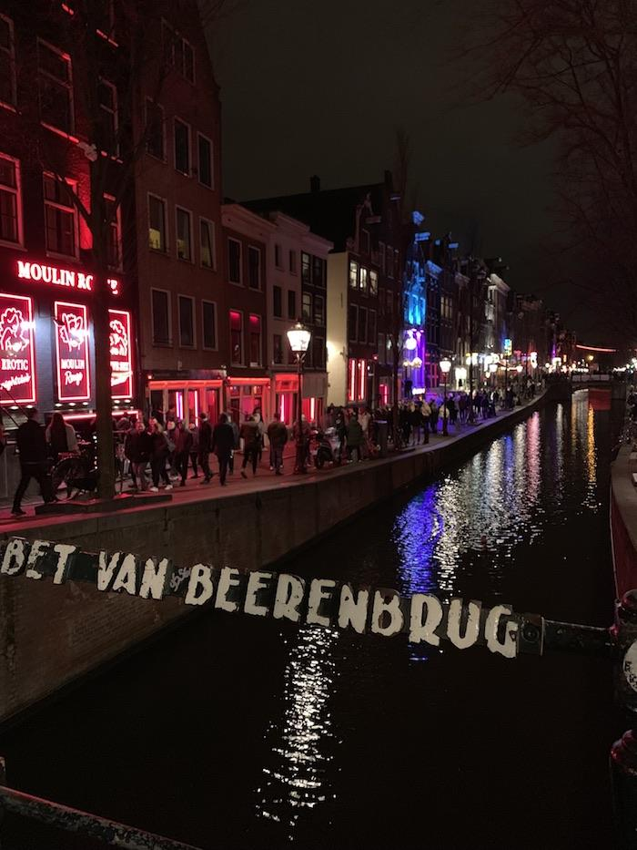 The famous red light district