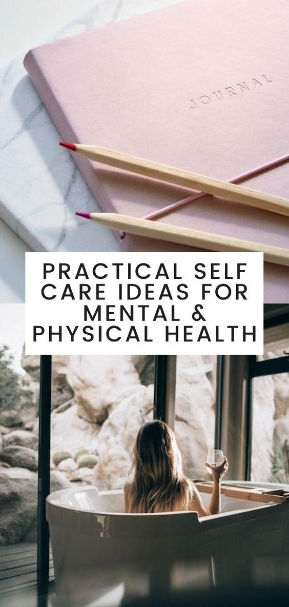 self-care, self care ideas, exercising, yoga, meditation, healthy, mind and body health