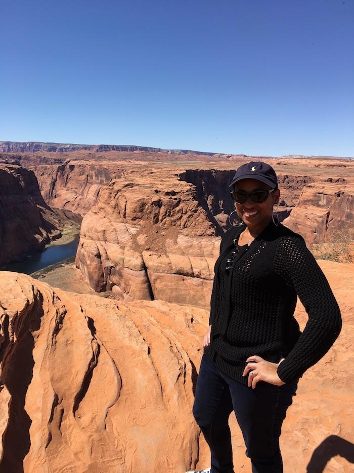Nadeen at Horseshoe Bend