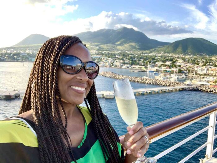 Dr. White on a Souther Caribbean cruise