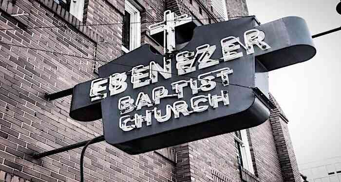 things to do in atlanta for black history month, ebenezer baptist church, black churches in atlanta