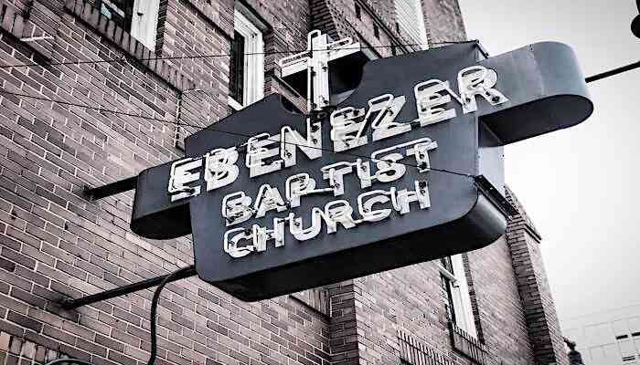 things to do in atlanta for black history month, ebenezer baptist church, black churches in atlanta