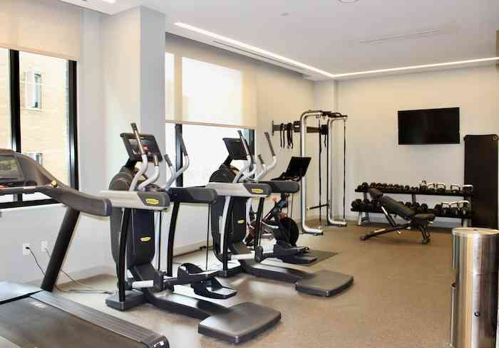 24 hour gym at Canopy Hotel Midtown Atlanta