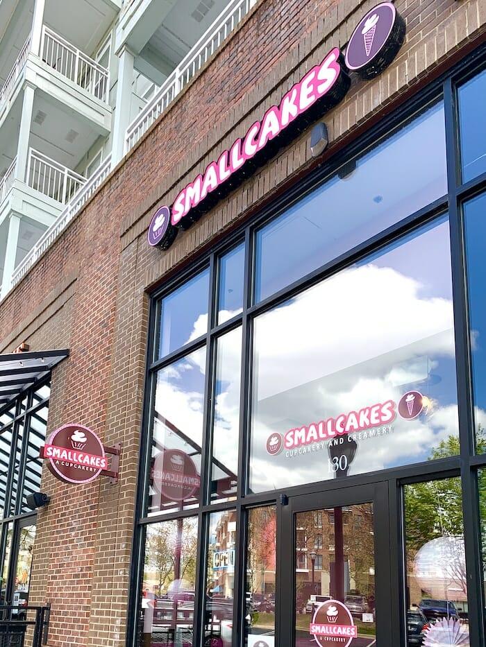 Smallcakes storefront