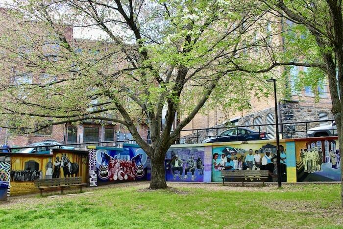 Triangle Park murals