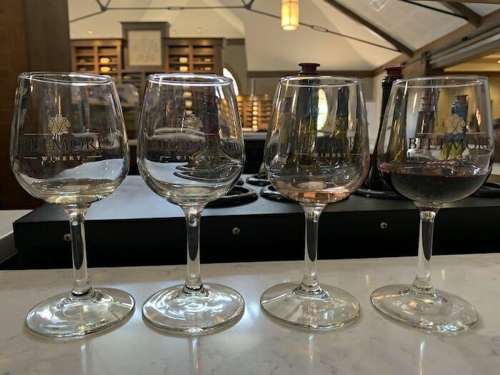 wine tasting in Asheville NC