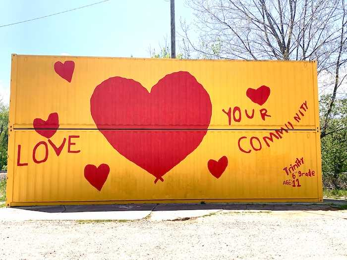 Love Your Community mural