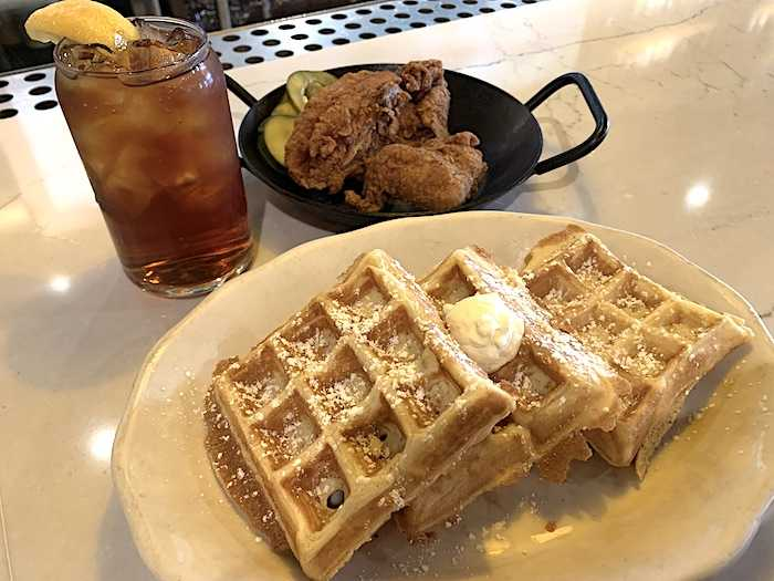 Tupelo fried chicken and waffles